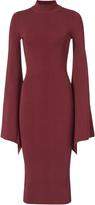 SOLACE London Ami Open Back Knit Dress