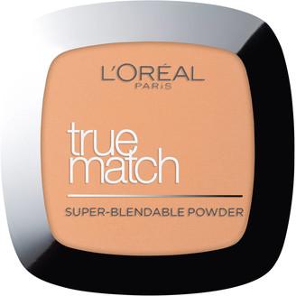 L'Oreal True Match Face Powder 9g (Various Shades) - 8W Golden Cappuccino