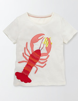 Boden Aquatic Appliqué T-Shirt