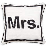 "Jonathan Adler ""Mrs."" Needlepoint Throw Pillow"