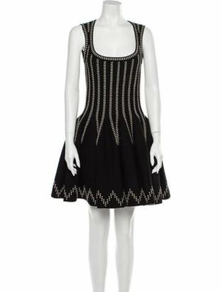 Alaia Wool Mini Dress Wool