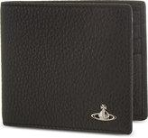 Vivienne Westwood Orb Grained Leather Bifold Wallet