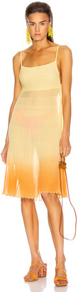 Jacquemus La Robe Helado in Faded Orange | FWRD