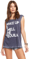 Chaser Wake Up with Tequila Tee in Avalon