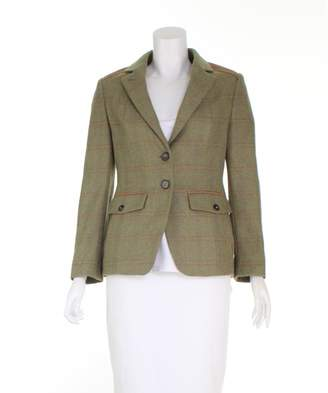 N. Non Signé / Unsigned Non Signe / Unsigned \N Green Wool Jackets