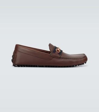 Gucci Ayrton Horsebit driving loafers