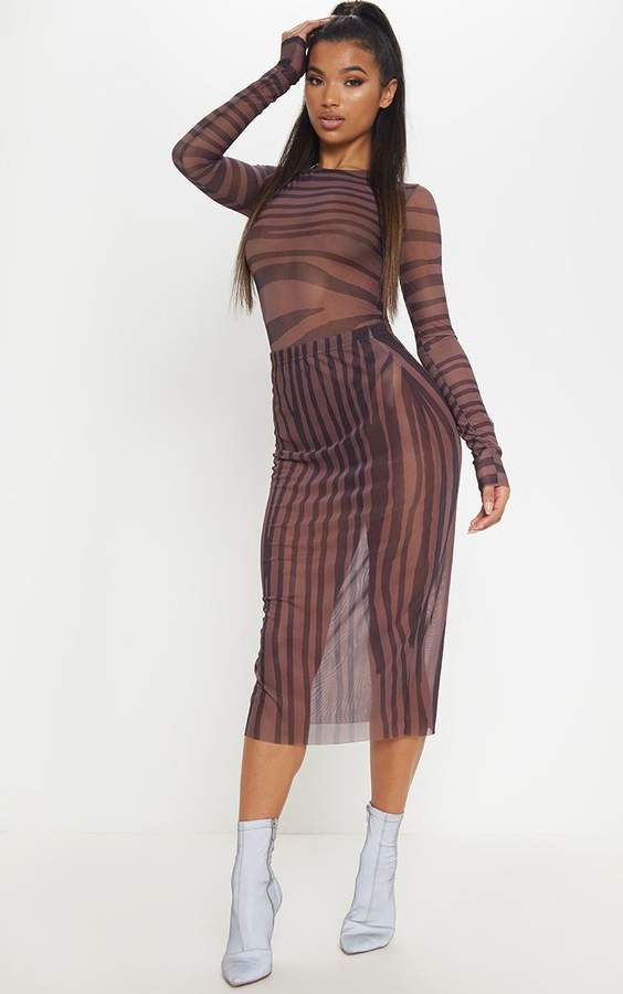 f645b78028 Bodysuit Mesh Skirt - ShopStyle UK