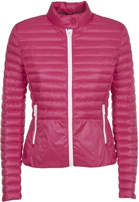 Colmar Pink Down Jacket With Collar