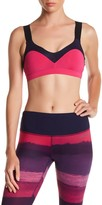 Brooks Hot Shot Colorblock Sports Bra