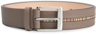 Paul Smith contrasting pipe belt