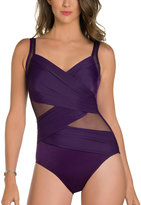 Miraclesuit Plum Madero One-Piece