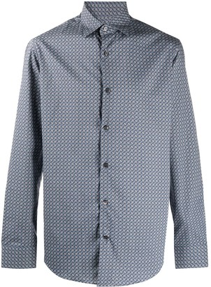 Salvatore Ferragamo Classic Button-Up Shirt