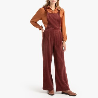 """La Redoute Collections Corduroy Dungarees, Length 30.5"""""""