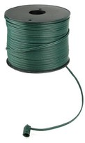 Vickerman 18 Gauge C7 Christmas Wire Spool Cable Finish: Green
