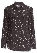 Equipment Starry Night Slim Signature Silk Shirt