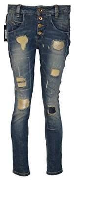 Fornarina Sampey Stretch Jeans - Blue - W34/36