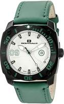 Oceanaut Men's OC1343 Barletta Analog Display Swiss Quartz Green Watch