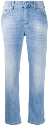 Dondup Mid Rise Cropped Jeans