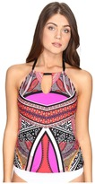 Kenneth Cole Without Borders High Neck Keyhole Tankini