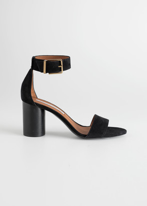 And other stories Square Buckle Heeled Sandals