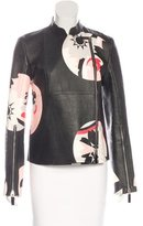 Alexander McQueen Spring 2015 Leather Jacket