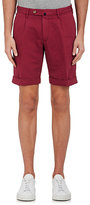 Incotex MEN'S CHINOLINO LINEN-COTTON BERMUDA SHORTS
