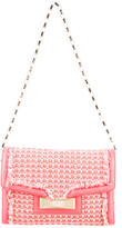 Kate Spade Leather-Accented Woven Shoulder Bag