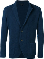 Lardini textured two-button jacket - men - Cotton/Polyamide - S