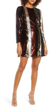 Ali & Jay Members Only Sequin Mini Dress