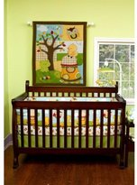 Pem America Forest Critters 5 Piece Baby Crib Bedding Set by Step by Step