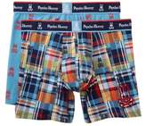 Psycho Bunny Two Piece Boxer Brief Gift Set