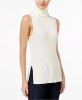 Kensie Ribbed Turtleneck Sweater