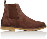 Barneys New York MEN'S CHELSEA BOOTS-BROWN SIZE 11 M