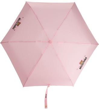 Moschino Logo-Print Umbrella