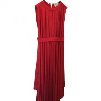 Maison Rabih Kayrouz Red Polyester Dresses