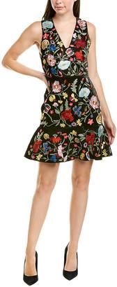 Alice + Olivia Peyton A-Line Dress