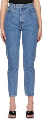 SLVRLAKE Blue Beatnik Ankle Jeans