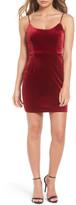 NBD Brooke Velvet Minidress