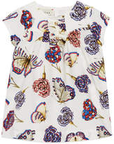 Gucci Baby butterflies and flowers print dress