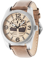 Timberland Men's Bolton Brown Leather Strap Watch 46x57mm TBL14770JS07