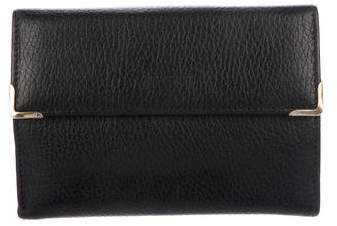 Gucci Leather Compact Wallet