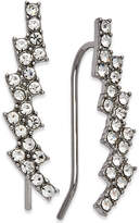 INC International Concepts I.n.c. Silver-Tone Crystal Ear Climbers, Created for Macy's