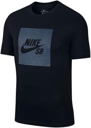 Nike Sb Logo Chambray Skate Tee