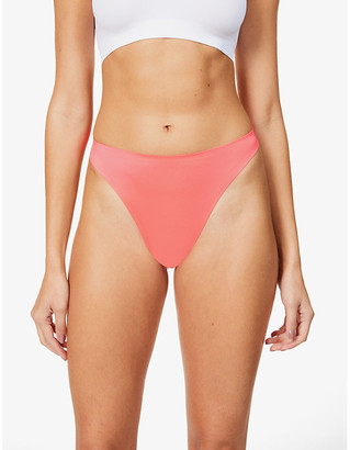 We Are HAH High End high-rise stretch-woven thong