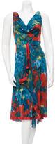 Yigal Azrouel Printed Midi Dress