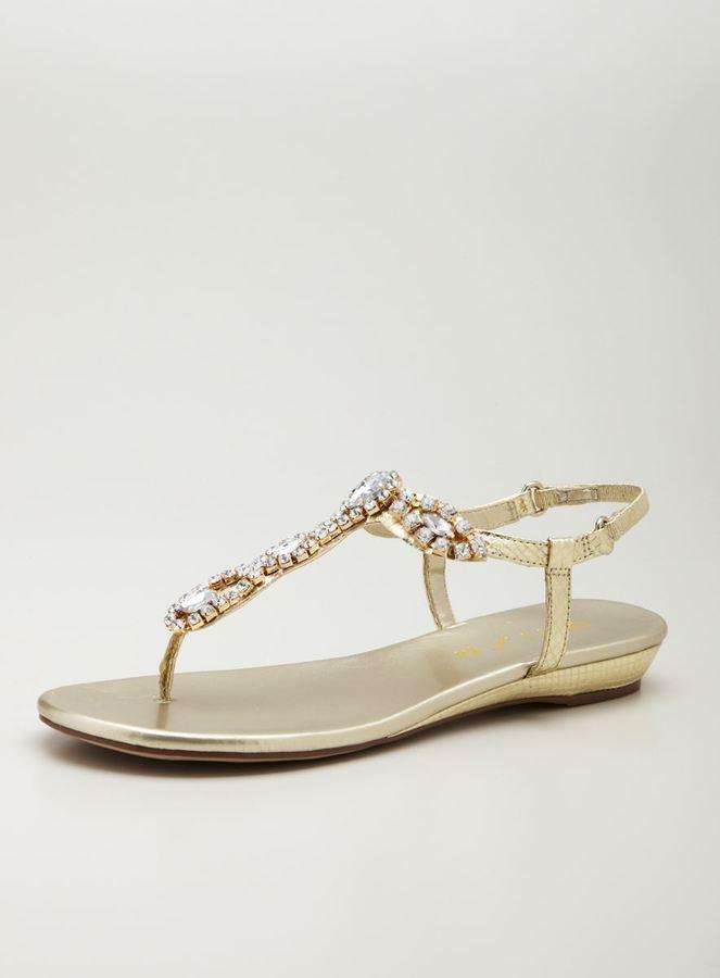 Unisa Silver wedge Sandal