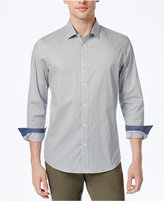 Michael Kors Men's Tailored-Fit Diamond-Pattern Shirt
