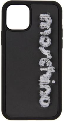 Moschino Black Logo iPhone 11 Pro Case