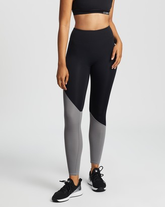 Unit Women's Black Tights - Energy Active Leggings - Size One Size, 8 at The Iconic