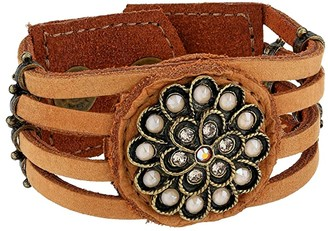 Leather Rock Sunita Bracelet